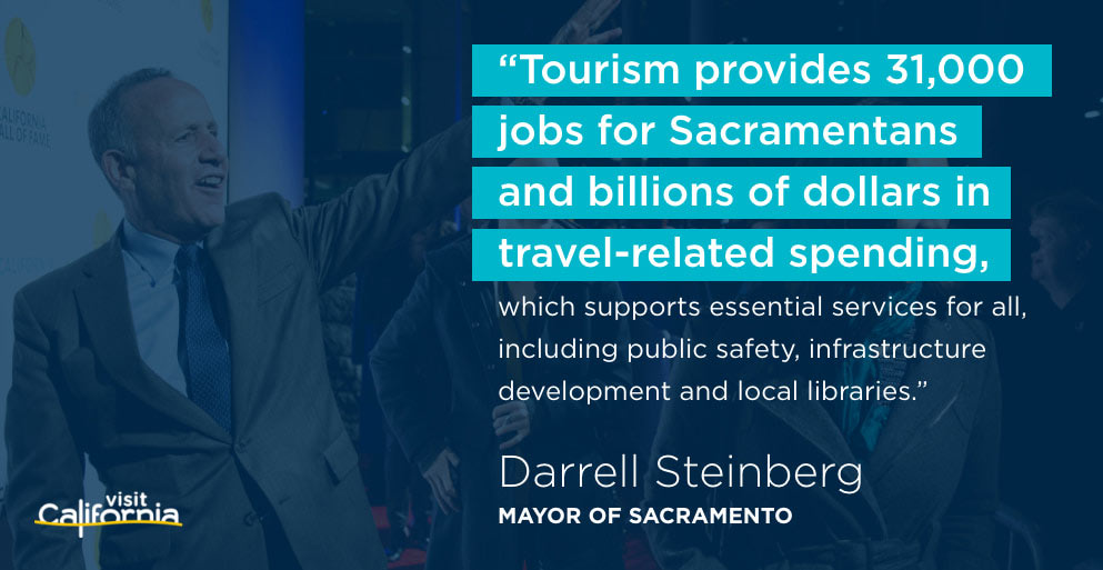 Quote from Darrell Steinberg, Mayor of Sacramento
